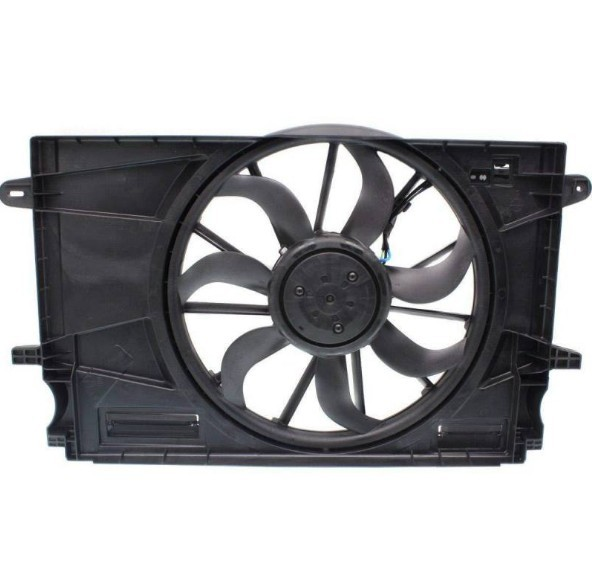 Eletro-ventilador radiador - Cruze 2012 a 2019 motor 1.4