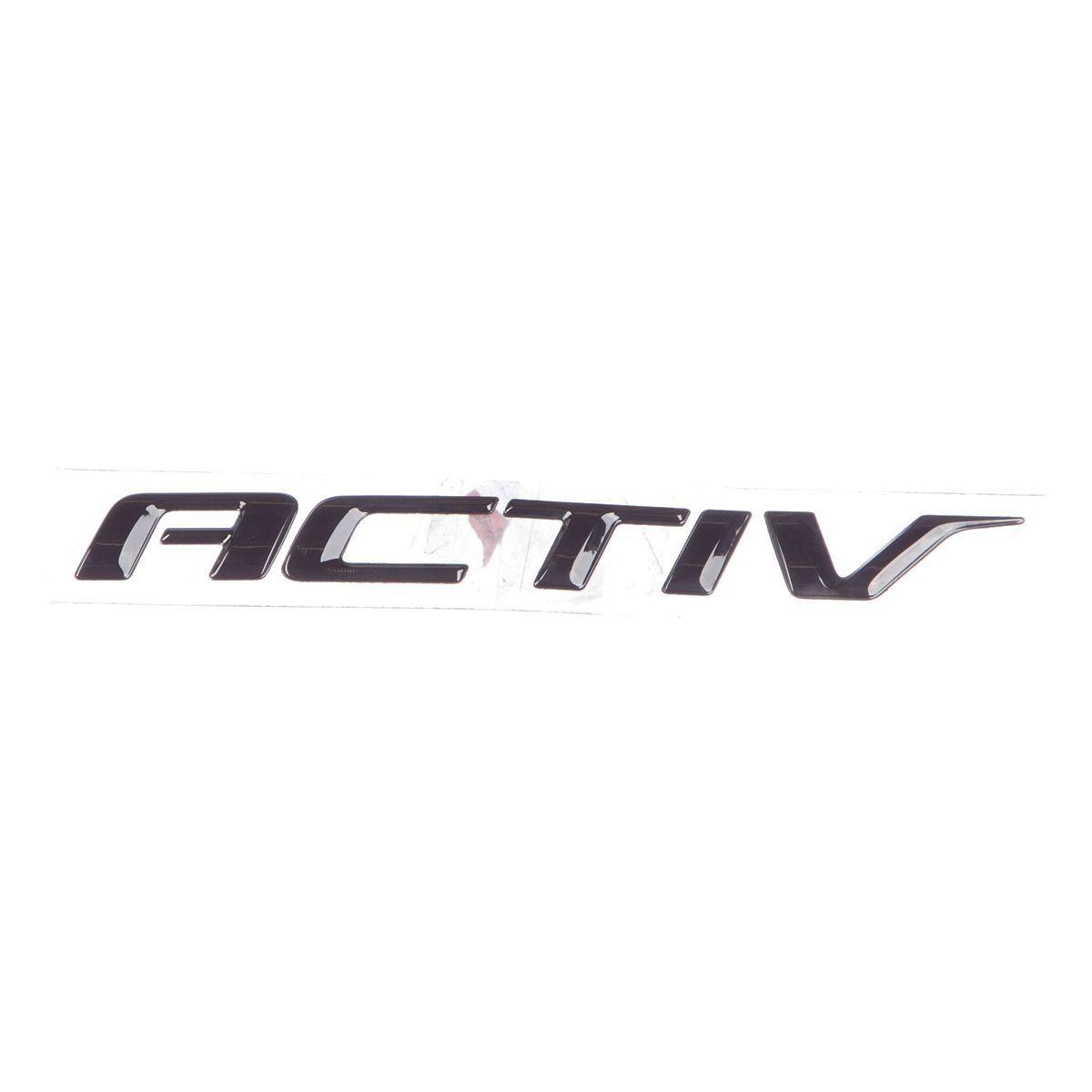 Emblema *activ* tampa traseira porta malas - Onix activ 2017 a 2019