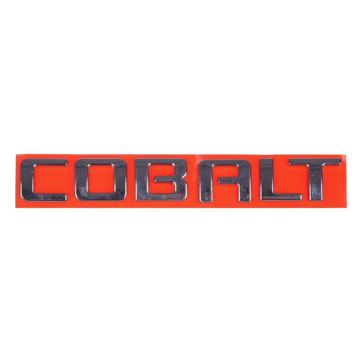 Emblema *Cobalt* tampa traseira porta malas- Cobalt
