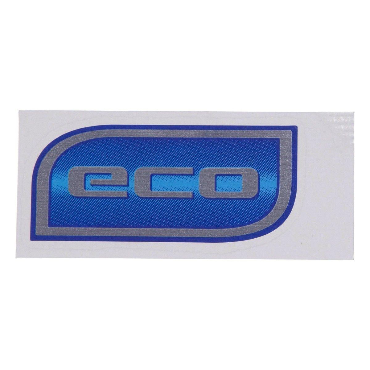 Emblema *Eco* da tampa traseira porta malas - Prisma novo 2017 a 2020