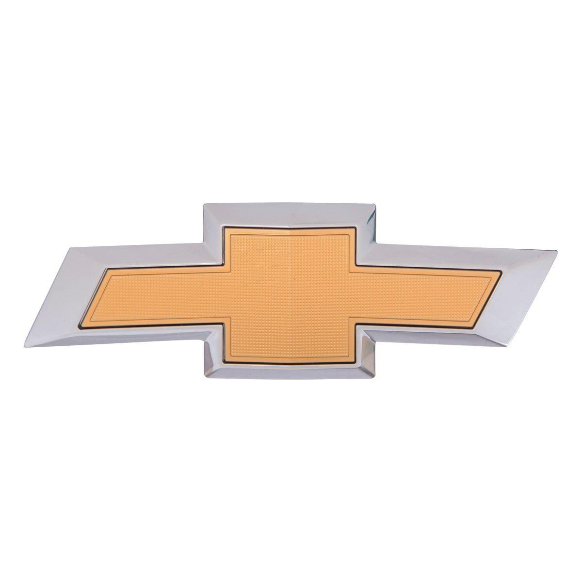Emblema *gravata* grade parachoque - Prisma novo 2016 a 2018