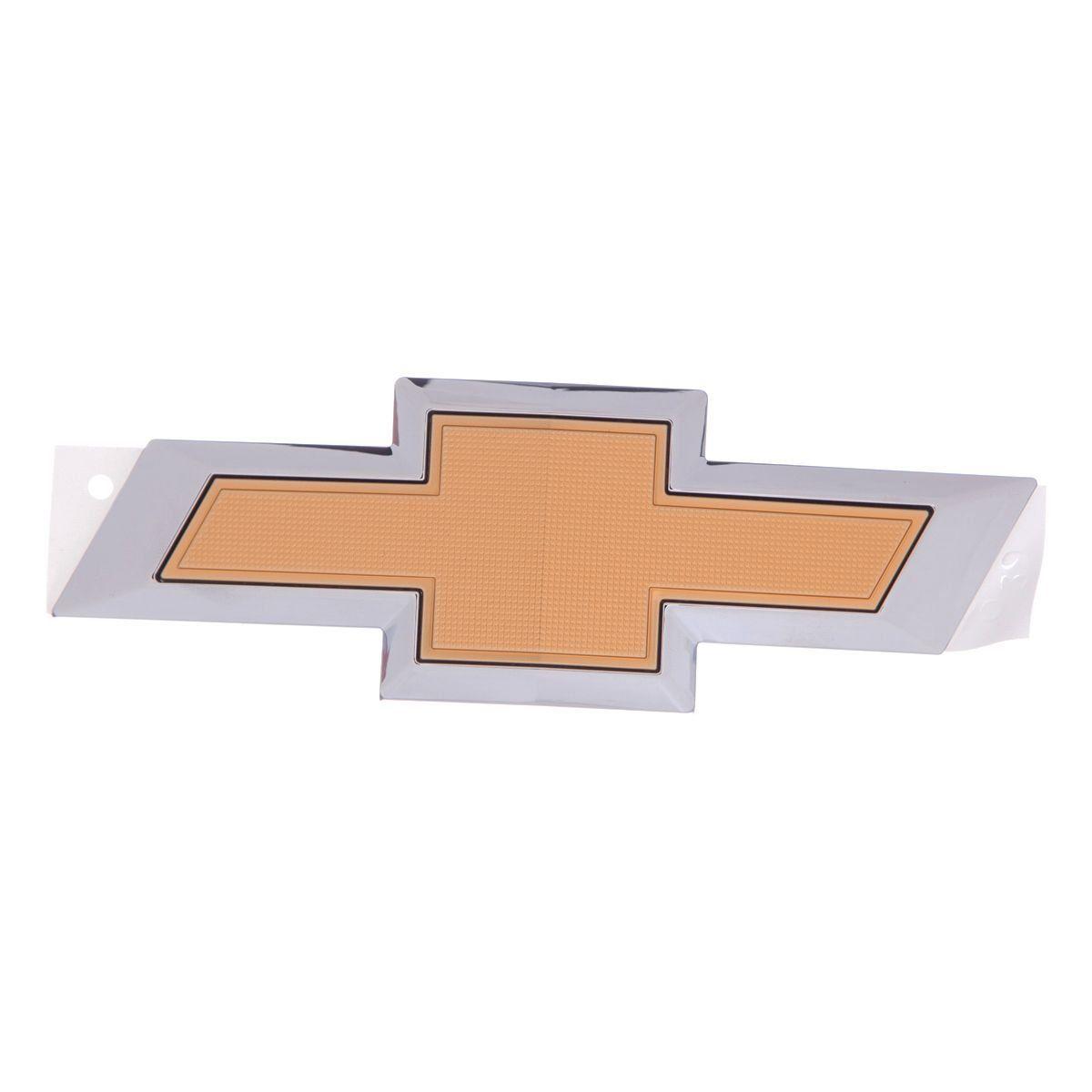 Emblema *gravata* tampa traseira porta malas - Onix 2015 a 2019