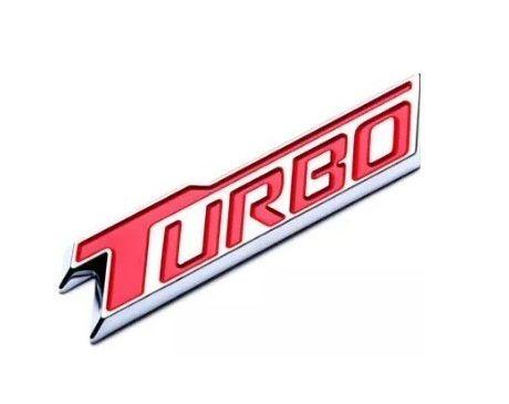 Emblema turbo da tampa traseira- Cruze 1.4 2017 Em diante