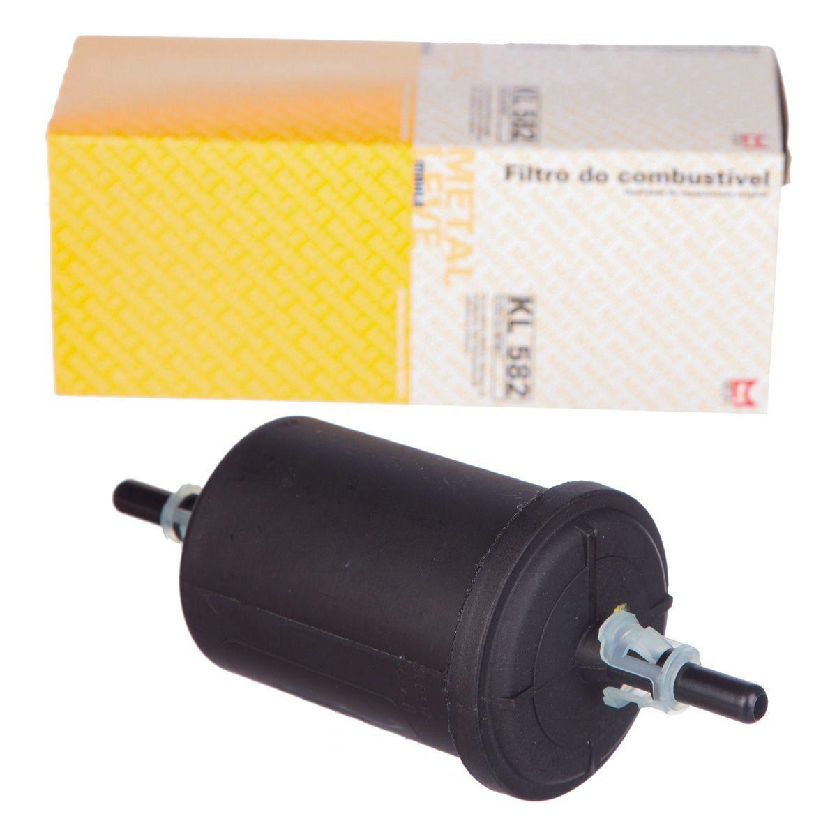 Filtro combustivel flex - Prisma de 2007 a 2020