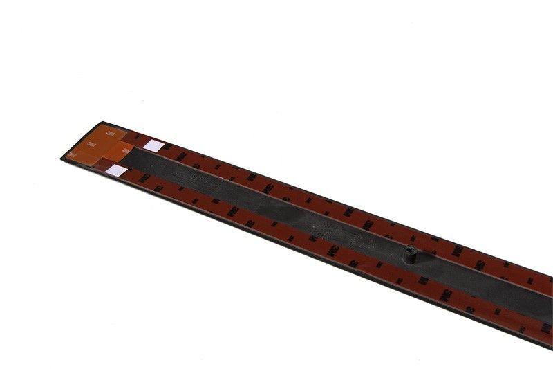 Friso porta traseira lado passageiro *preto* - Meriva de 2003 a 2012