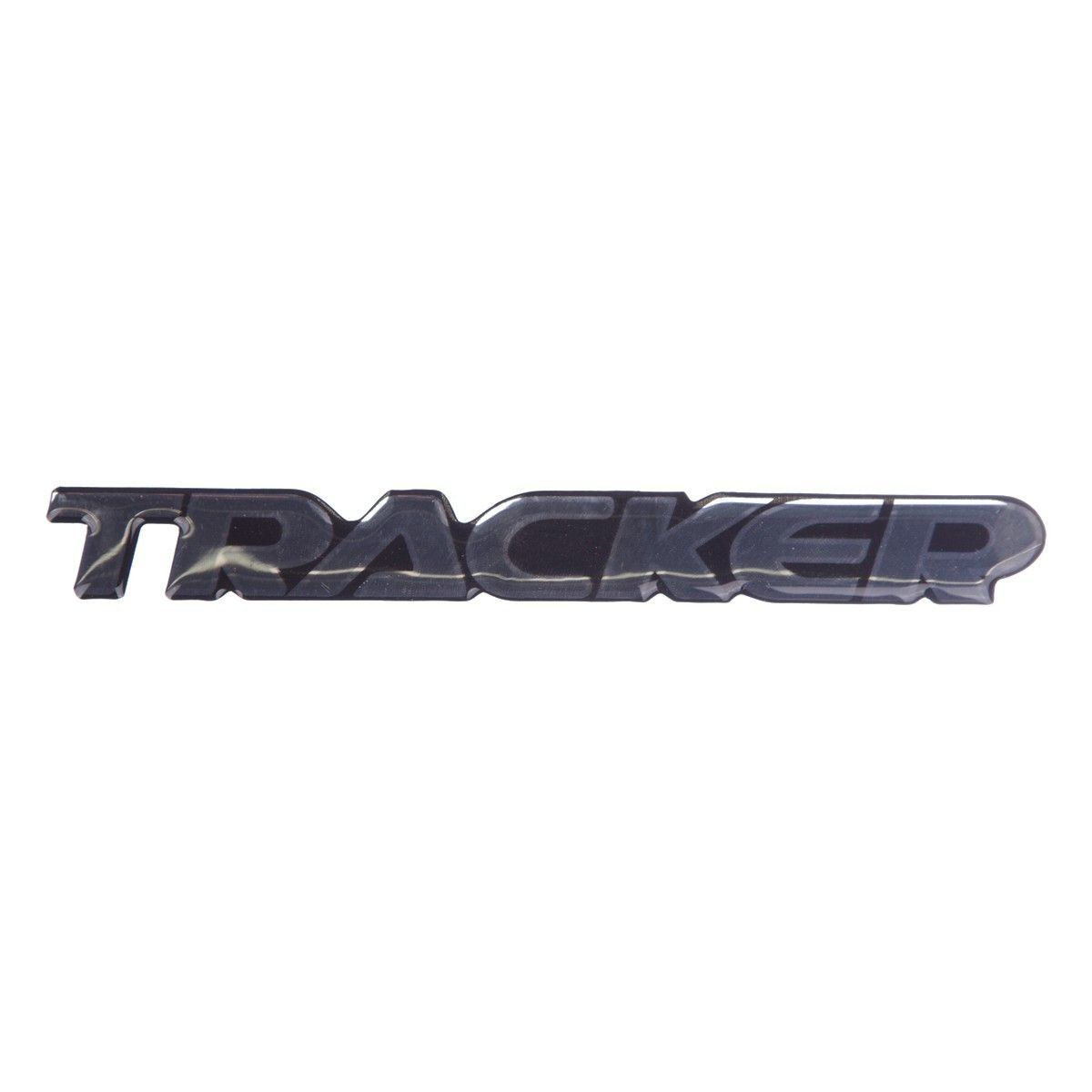 Emblema *Trackerr* da porta dianteira - Tracker 2001 a 2009
