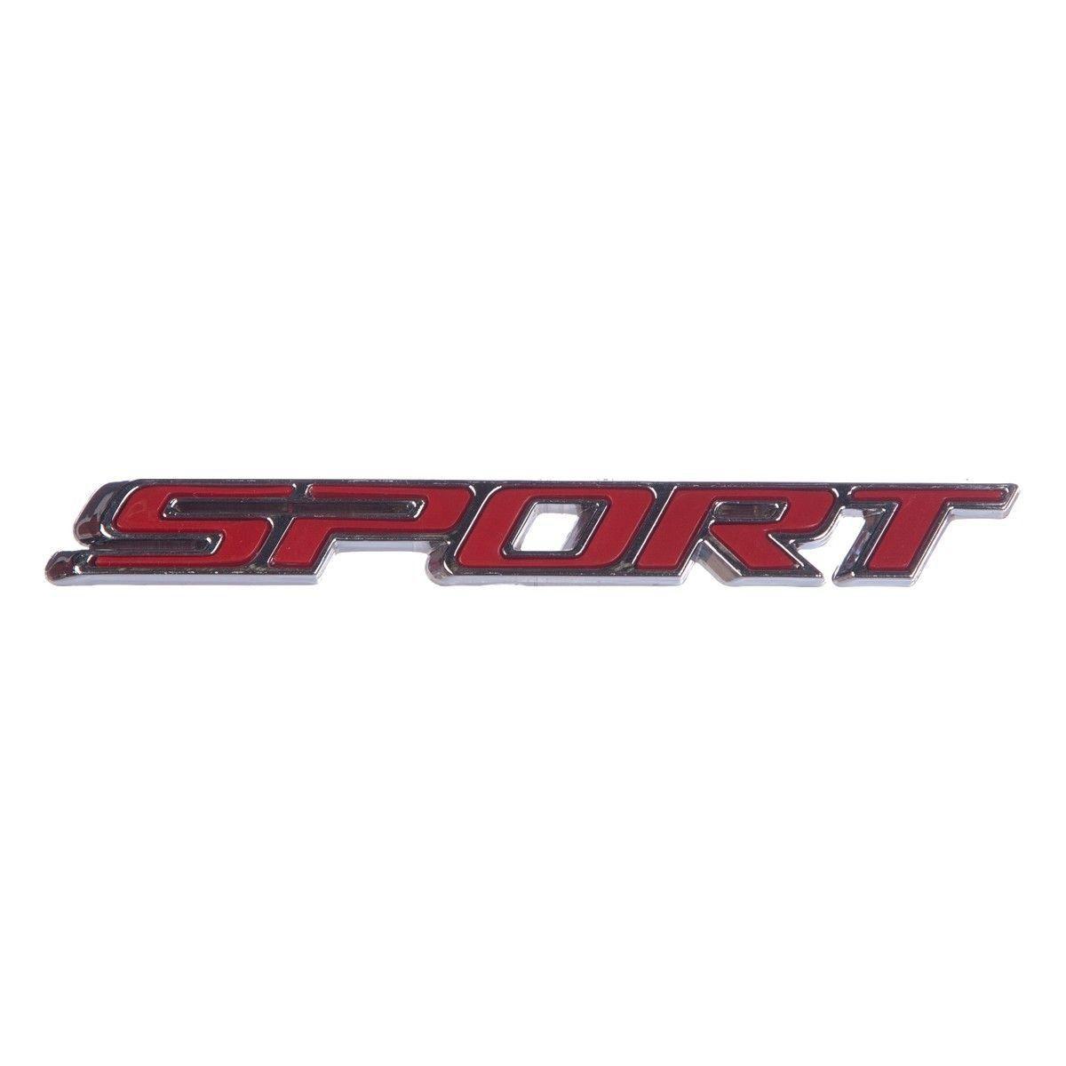 Emblema *sport* da porta dianteira- Montana nova 2013 a 2018