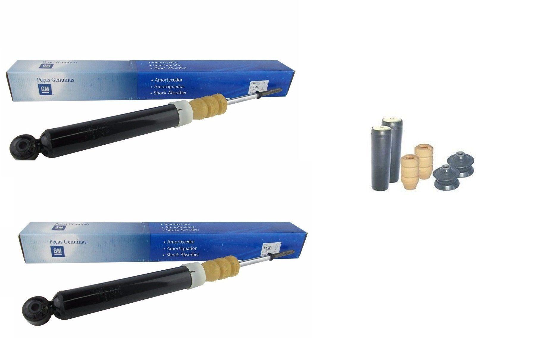Kit amortecedor traseiro - Prisma 2007 a 2012