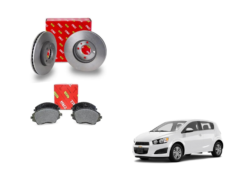 Kit freio dianteiro - Sonic de 2012 a 2016