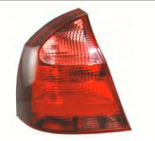 Lanterna traseira lado motorista - novo Corsa sedan 2008 a 2012