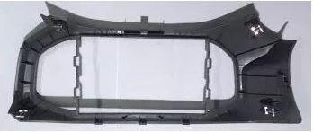 Moldura central painel *cinza* - Prisma novo de 2013 a 2016