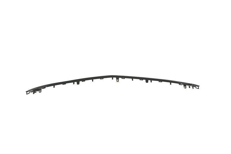 Moldura grade inferior parachoque dianteiro - Prisma Novo 2013 a 2020