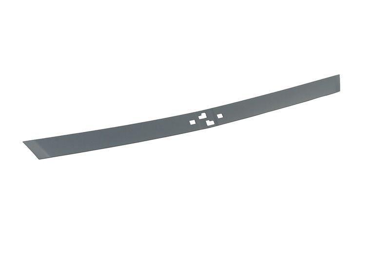 Moldura intermediaria da grade radiador - S10 nova 2017 a 2017