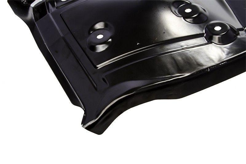 Painel inferior da caixa roda dianteira lado motorista - Montana de 2004 a 2011