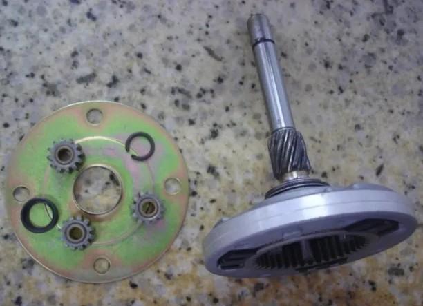 Pinhao motor partida sistema lucas - Blazer 1995 a 2004