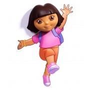 Arandela Infantil de Parede 3D Dora Aventureira