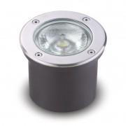 Balizador LED 12W Redondo para Embutir em Solo e Parede Bivolt