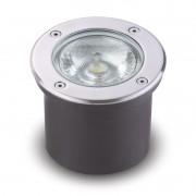 Balizador LED 15W Redondo para Embutir em Solo ou Parede Bivolt