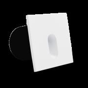 Balizador LED para Embutir Quadrado 3W Bivolt