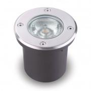 Balizador LED 9W Redondo para Solo e Parede Bivolt