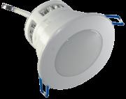 Spot LED 3W Completo Redondo Fixo com Difusor