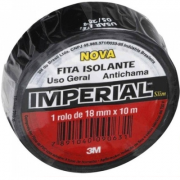Fita Isolante Imperial Slim 18 mm x 10 metros - 3M