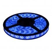 Fita LED 3528 12V IP65 Com Proteção de Silicone - Luz Azul