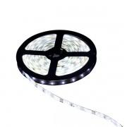 Fita LED 3528 12V IP65 com Silicone Rolo com 5m Luz Branca 6000K