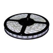 Fita LED 5050 12V IP20 sem Silicone Rolo com 5m Luz Branco Frio 6000K