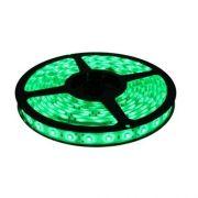 Fita LED 5050 12V Luz Verde IP65 Com Proteção de Silicone