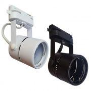 Kit 3 Spot com Trilho Eletrificado e Lâmpada LED Dicroica GU10 4,8W