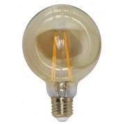 Lâmpada de Filamento LED G95 4W Tipo Filamento de Carbono Balloon