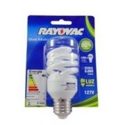 Lâmpada Fluorescente Compacta CFL 15 Watts Espiral - Rayovac