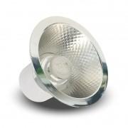 Lâmpada LED AR70 Refletora 7W Bivolt Driver Interno