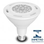 Lâmpada LED PAR38 15W Bivolt com Certificação do Inmetro