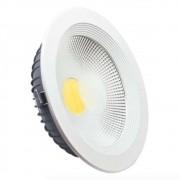 Luminária LED 30W Downlight Redonda de Embutir Bivolt
