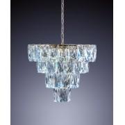 Lustre de Cristal Fasano 50cm 80W
