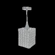 Lustre de Cristal Retangular Para Lâmpada G9