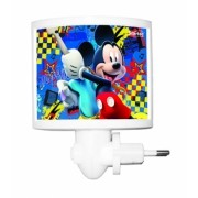 Mini Abajur de Tomada LED Mickey