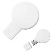 Pen Drive 8GB Plástico Balão Branco Personalizado