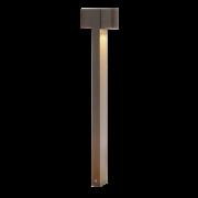 Poste Balizador Raiado 4W LED com 2 Focos de Luz