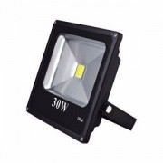 Refletor LED 30W IP65 Slim Bivolt Preto
