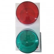 Sinalizador de Garagem Semáforo LED Bivolt