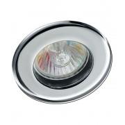 Spot de Embutir Fixo Cromado para Lâmpada Mini Dicroica MR11 Startec