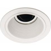 Spot de Embutir Redondo Branco Recuado para Lâmpada Dicroica Tech Ball