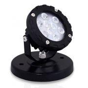 Spot LED com Base para Sobrepor Preto 10W Bivolt