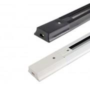Trilho Eletrificado de 1m Preto ou Branco Para Spot LED