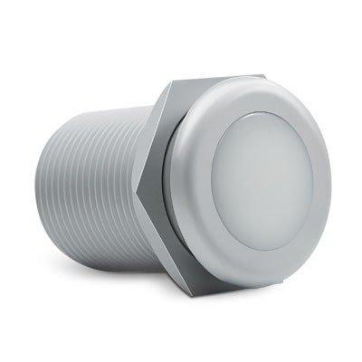 Balizador LED 1W para Solo e Parede, Bivolt C/ 2 unidades - BRILIA