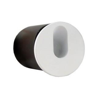 Balizador LED 3W Bivolt Redondo Para Embutir em Parede ou Solo