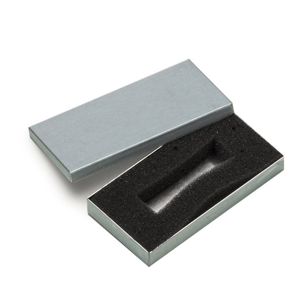 Case Fechado de Metal Personalizado Para Mini Pen Drive (Estojo)